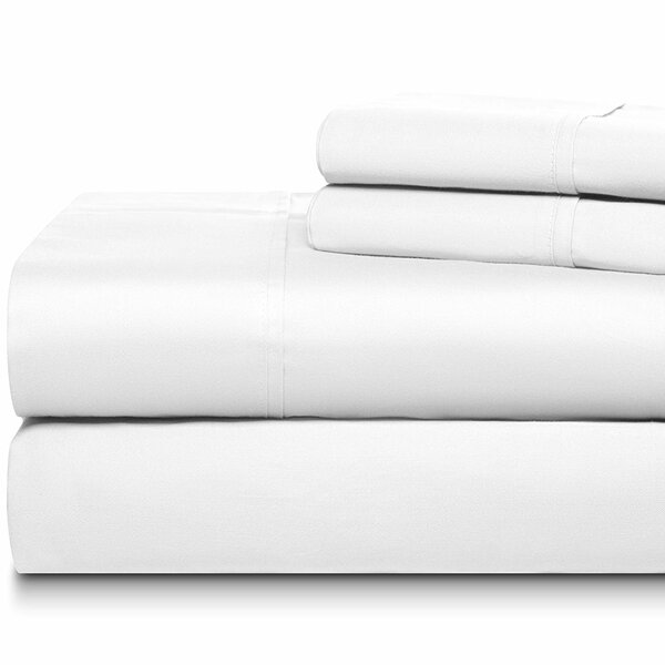 Jessa Hotel Luxury 500 Thread Count 100% Cotton Sheet Set by Darby Home Co